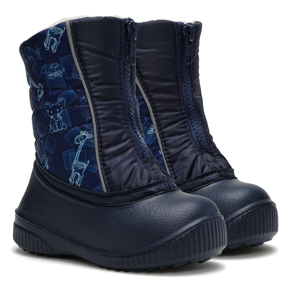 Сапоги Дюна 561/05 сафари синий/т.синий