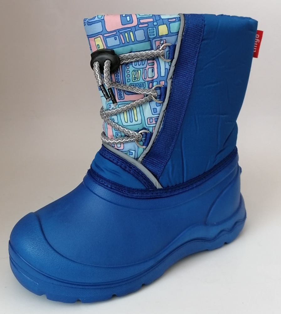 Сапоги Тинго UBM17315 голубой