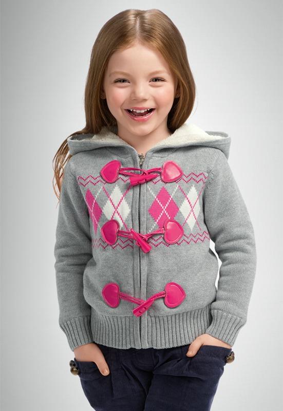 Вязание курточка для девочки 866